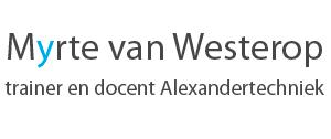 logo Myrte van Westerop Alexandertechniek